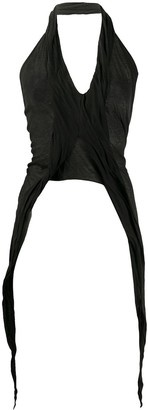 Rick Owens Halterneck Knit Top