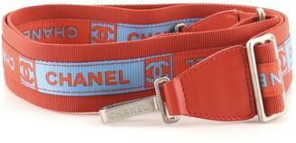 CHANEL Sports Line Adjustable Shoulder Strap Nylon