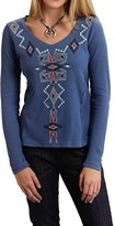 Roper Striking Southwest Thermal-Knit Shirt - Long Sleeve (For Women)