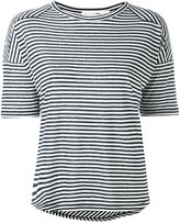 Rag & Bone Jean - Valley striped T-shirt - women - Linen/Flax/Modal - XS