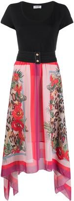 Liu Jo floral-print T-shirt dress