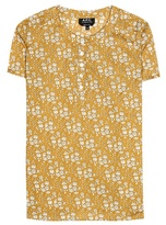 A.P.C. Printed cotton top