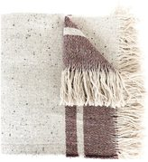 Forte Forte large woven stripe scarf