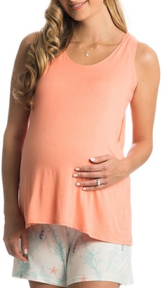 Everly Grey Cali Maternity/Nursing Tank