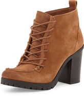 CIRCUS BY SAM EDELMAN Denver Lace-Up Suede Chukka Bootie, Saddle