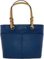 Michael Kors Women's Bedford Top Zip Leather Leather Top-Handle Tote