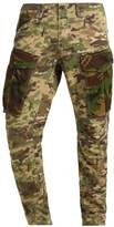 Gstar Rovic Mix 3d Tapered Cargo Trousers Khaki/army Green