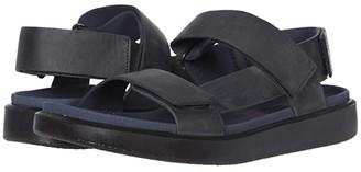 Ecco Flowt Summer Sandal (Marine) Men's Shoes