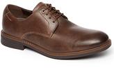 Rockport Break Plain Toe Shoes, Brown
