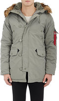 Alpha Industries MEN'S CANVAS HOODED PARKA