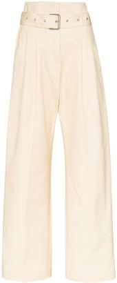 Plan C Paper Bag Waist Trousers