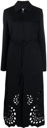 Jil Sander Cut Out Detail Coat