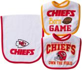Gerber Kansas City Chiefs Three-Piece Bib Set