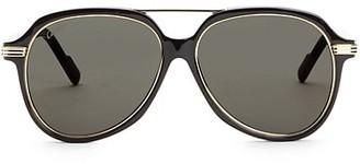 Cartier 57MM Aviator Sunglasses