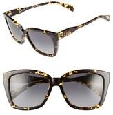 Salt 'Alycia' 46mm Polarized Square Sunglasses
