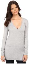 Splendid Cashmere Blend Asymmetrical Pullover