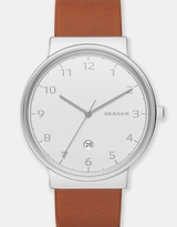 Skagen Ancher Brown Analogue Watch