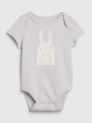 Gap Baby Organic Cotton Bunny Bodysuit