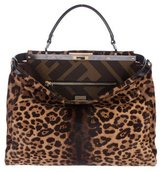 Fendi Large Ponyhair Peekaboo Bag