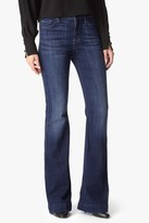 7 For All Mankind Ginger Flare Leg Trouser In Royal Broken Twill