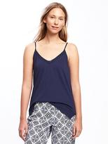 Old Navy Relaxed Lace-Trim Sleep Cami for Women