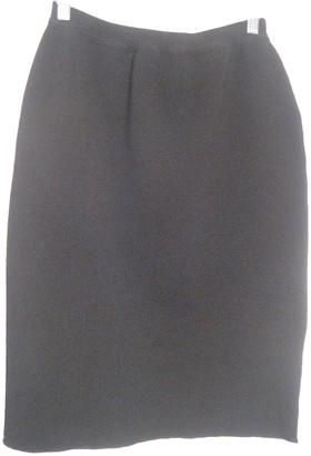 Jean Paul Gaultier Black Wool Skirts