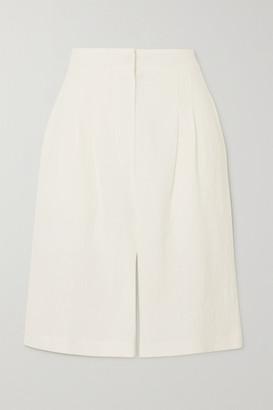 Le Kasha Linen Shorts - White