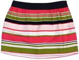 Milly Pink, Green, Navy & White Striped Skirt