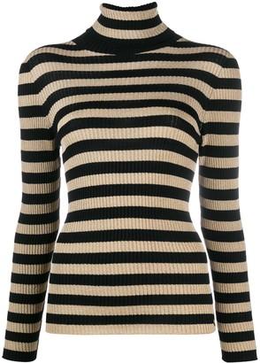 Twin-Set Striped Knit Top