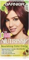 Garnier Nutrisse Nourishing Color Creme, 56 Medium Reddish Brown (Sangria) (Packaging May Vary)