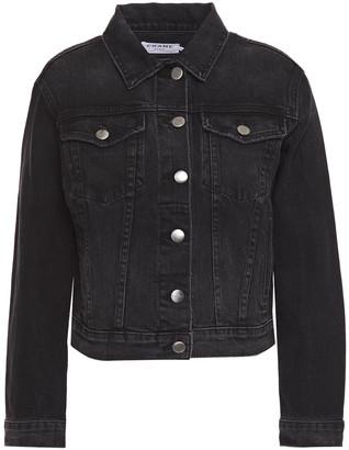 Frame Distressed Denim Jacket