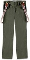Forever 21 FOREVER 21+ Boys Suspender Linen-Blend Jeans (Kids)
