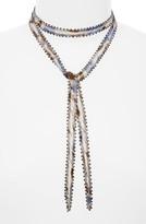 Chan Luu Women's Beaded Tie Necklace