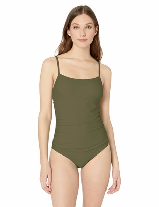 Catalina Women's Shirred One Piece Swimsuit