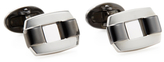 Jan Leslie Rectangle Buckle Cufflinks
