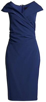 Donna Karan Pleated Mid-Length Dress