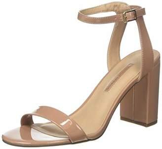 Dorothy Perkins Women's Shimmer Sling Back Heels, Pink (Nude 835), 7 (40 EU)