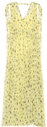 Lee Mathews Floral silk dress