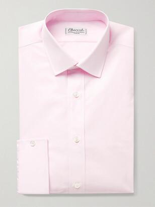 Charvet Cotton-Poplin Shirt - Men - Pink