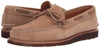 Sperry Gold Cup Handcrafted in Maine 1-Eye Camp Moccasin (Camel Brown) Men's Lace Up Moc Toe Shoes