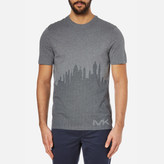 Michael Kors Sky View Graphic Tshirt - Heather Grey