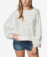 O'Neill Juniors' Cozy Up Striped Sweatshirt
