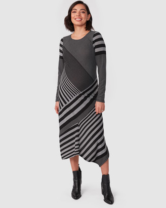Pea in a Pod Maternity - Women's Black Long Sleeve Dresses - Clarissa Dress - Size One Size, 6 at The Iconic