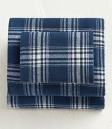 L.L. Bean Ultrasoft Comfort Flannel Sheet Set, Windowpane
