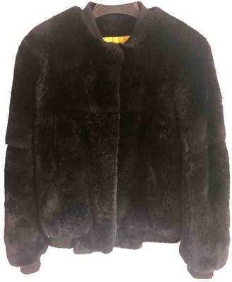 Meteo Black Rabbit Coats