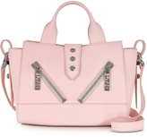 Kenzo Mini Kalifornia Rose Gommato Leather Handbag
