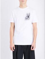 McQ by Alexander McQueen Bunny-print cotton-jersey t-shirt