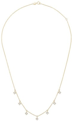 Dana Rebecca Designs 14kt Yellow Gold Diamond Charm Necklace
