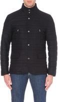 Corneliani Quilted wool-blend jacket