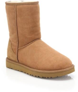 UGG Classic Short II Sheepskin-Lined Suede Boots